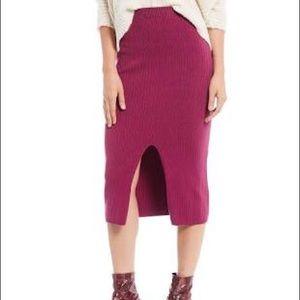 NWT best selling FP skyline midi skirt
